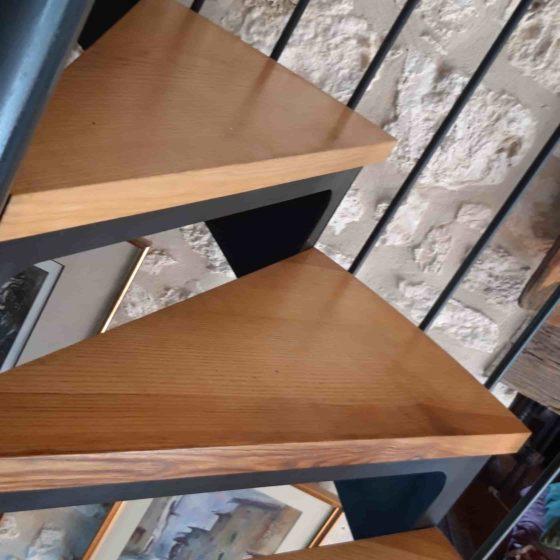 escalier bois castillonès