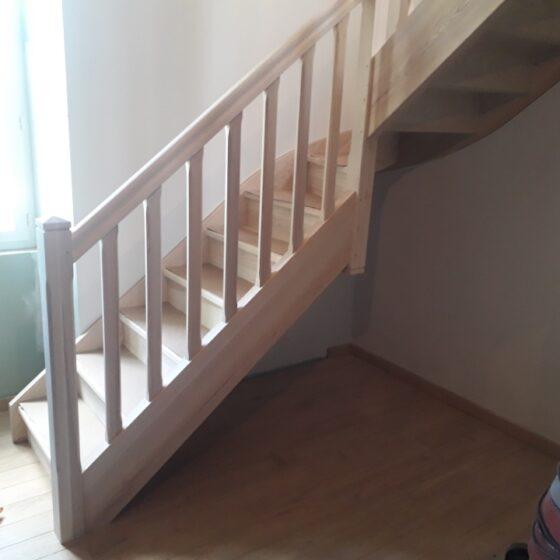 escalier bois bergerac