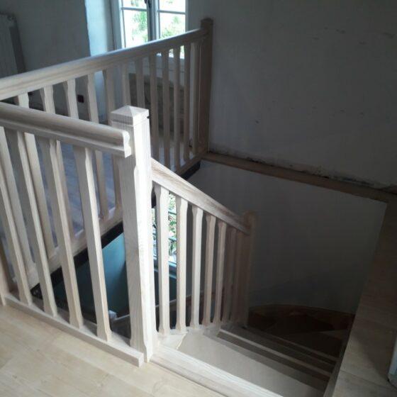 escalier bois eymet
