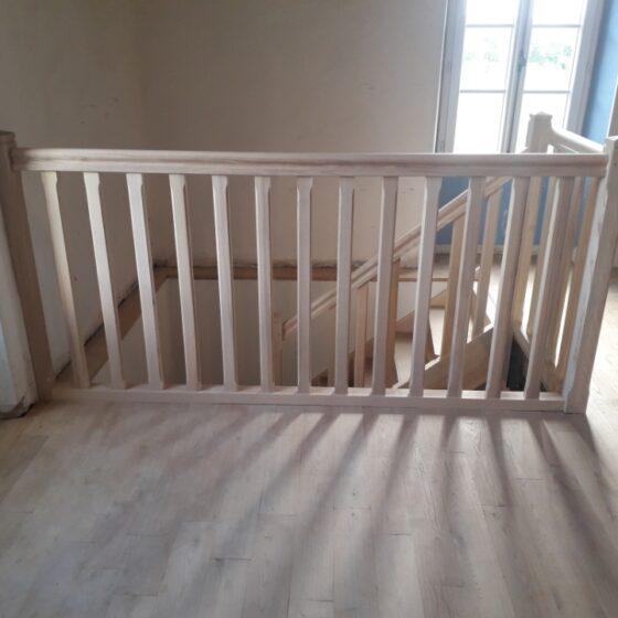 escalier bois marmande