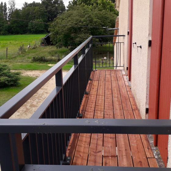 terrasse bois eymet